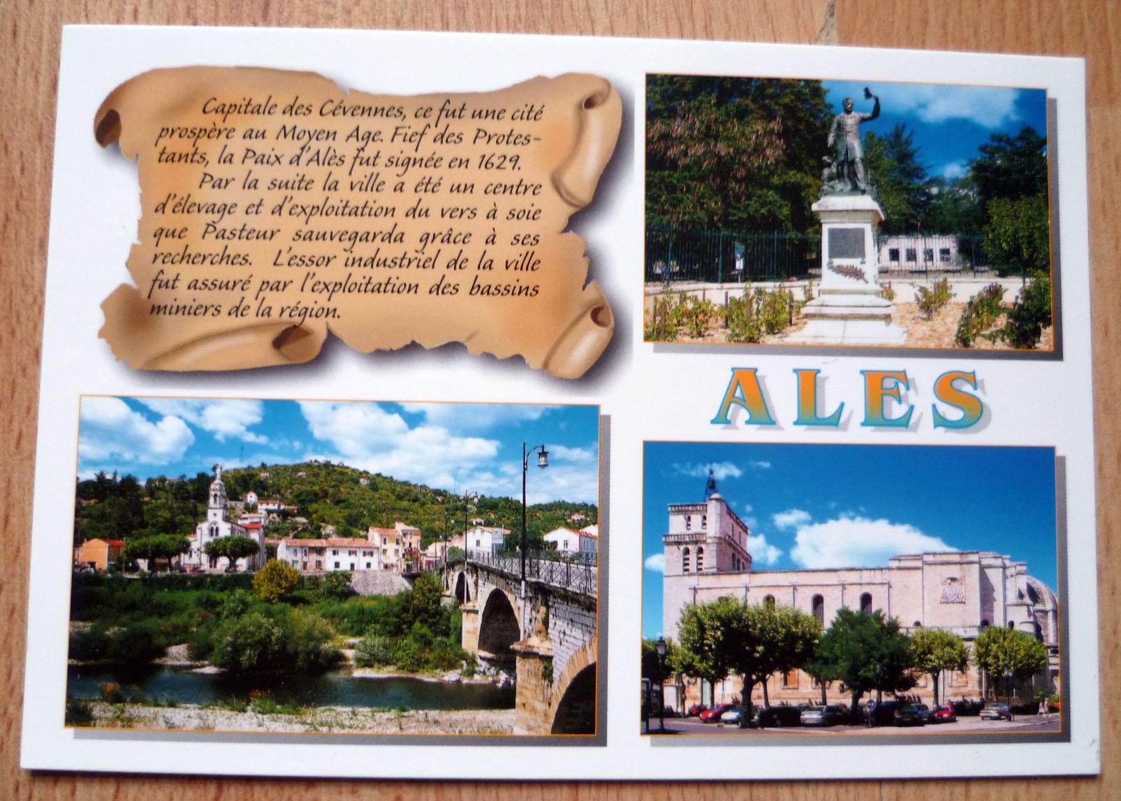 Carte Postale Ales