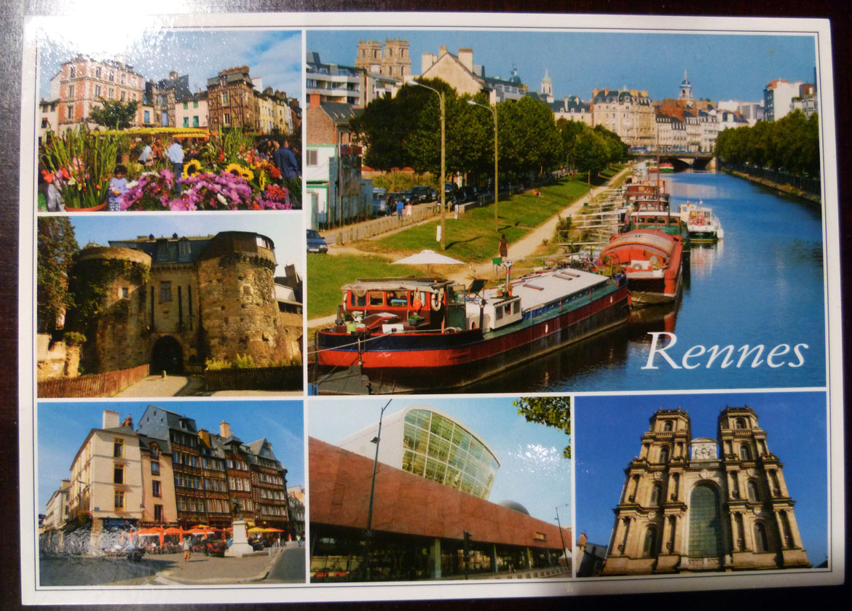 Carte Postale Rennes