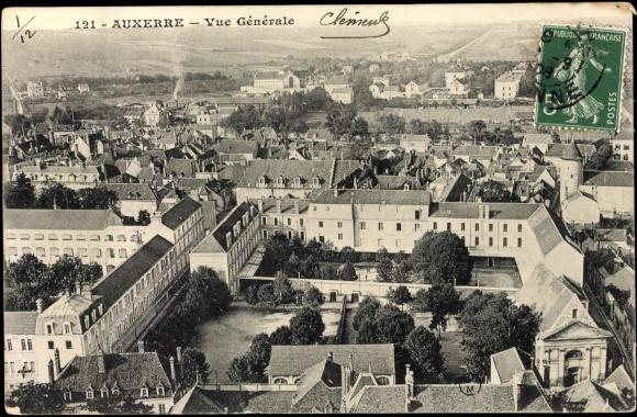 Auxerre carte postale