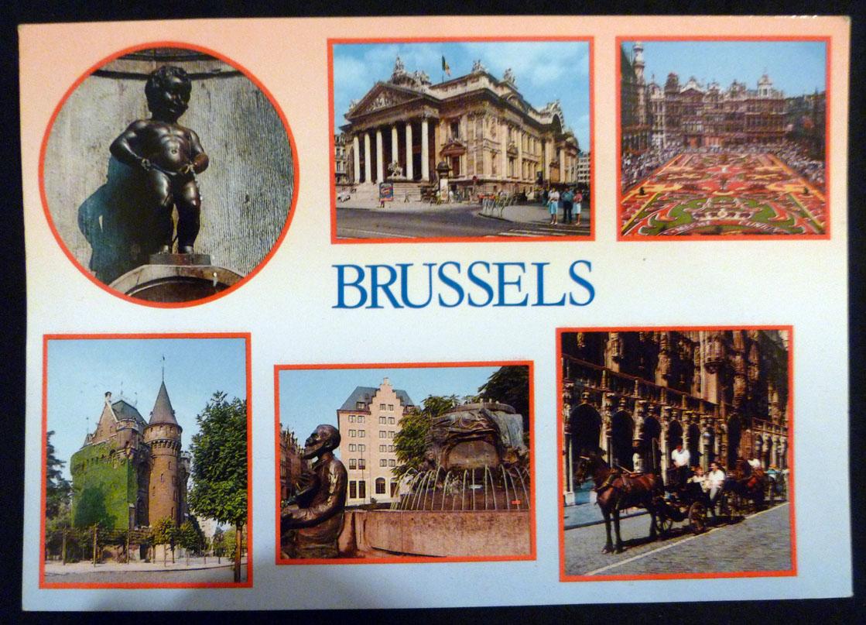 Carte Postale Bruxelles