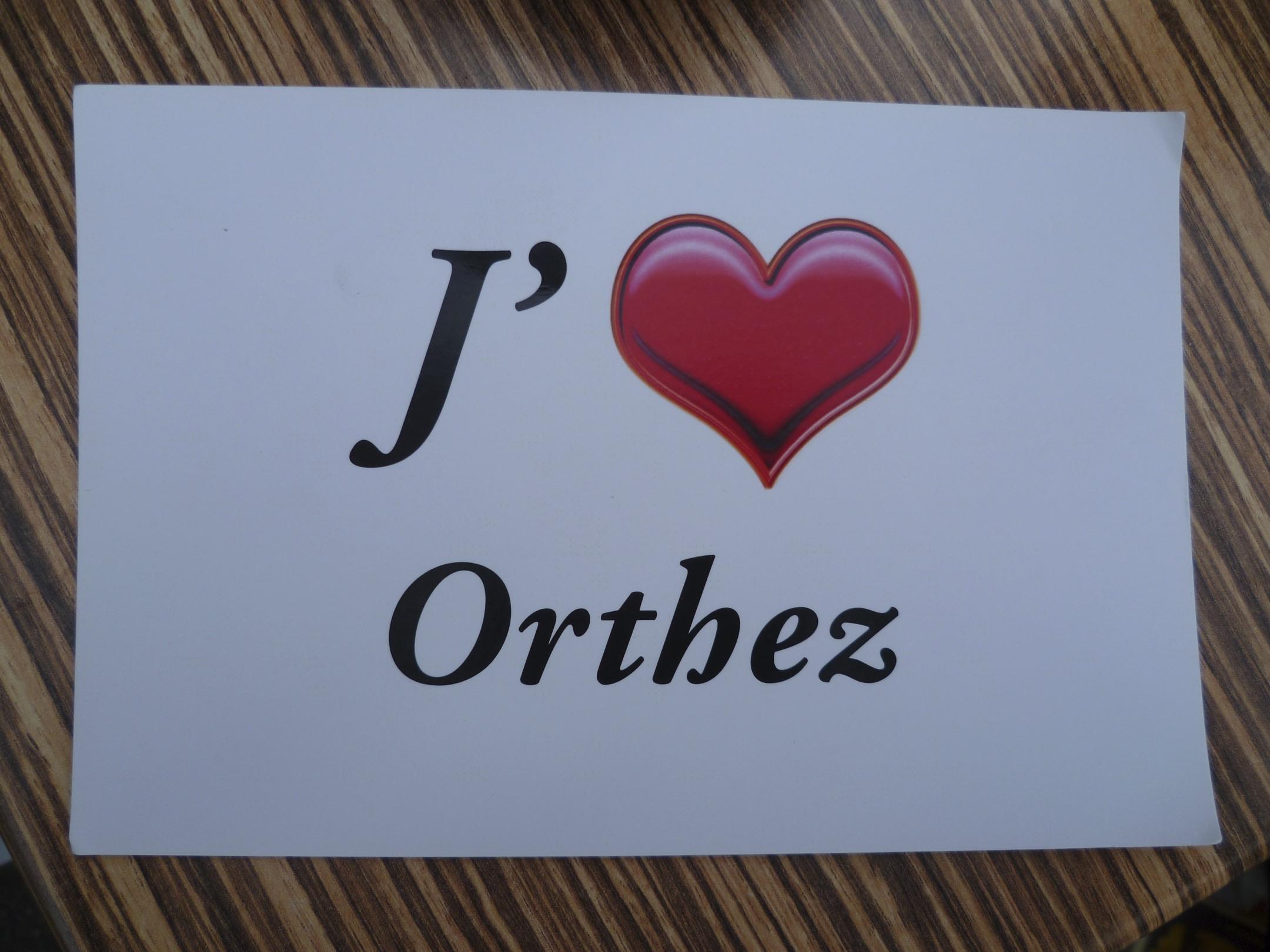 carte postale Orthez