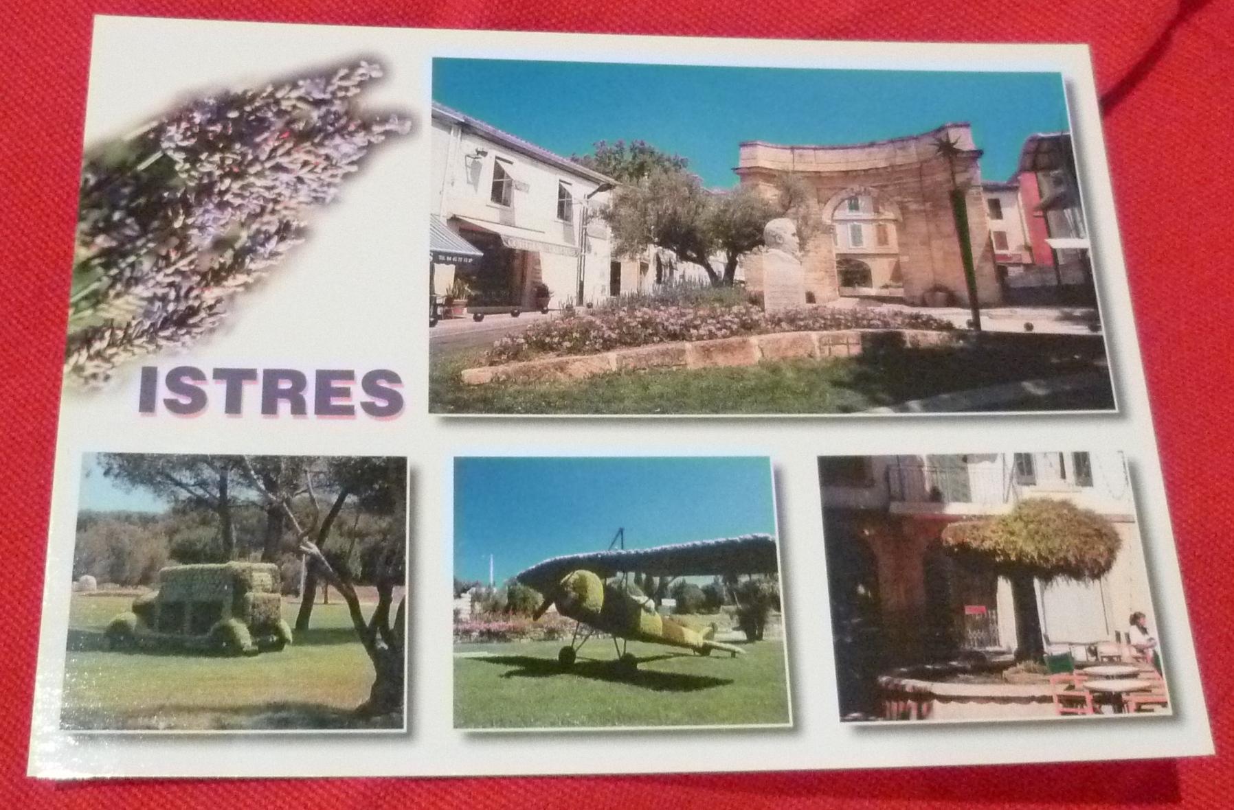 carte postale Istres