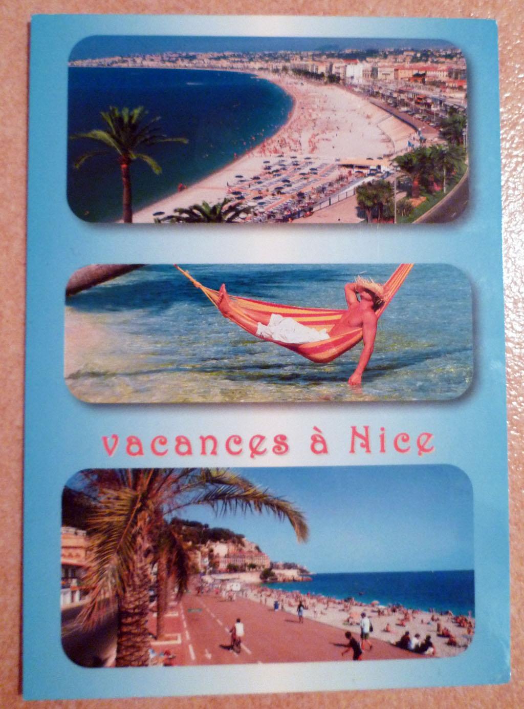 carte postale Nice