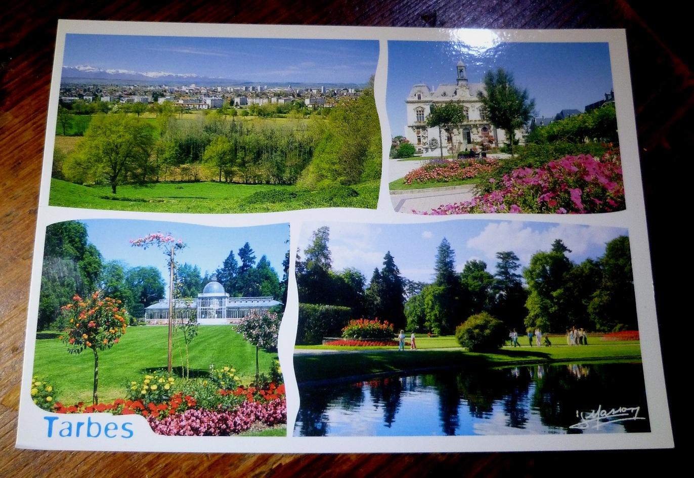 carte postale TARBES